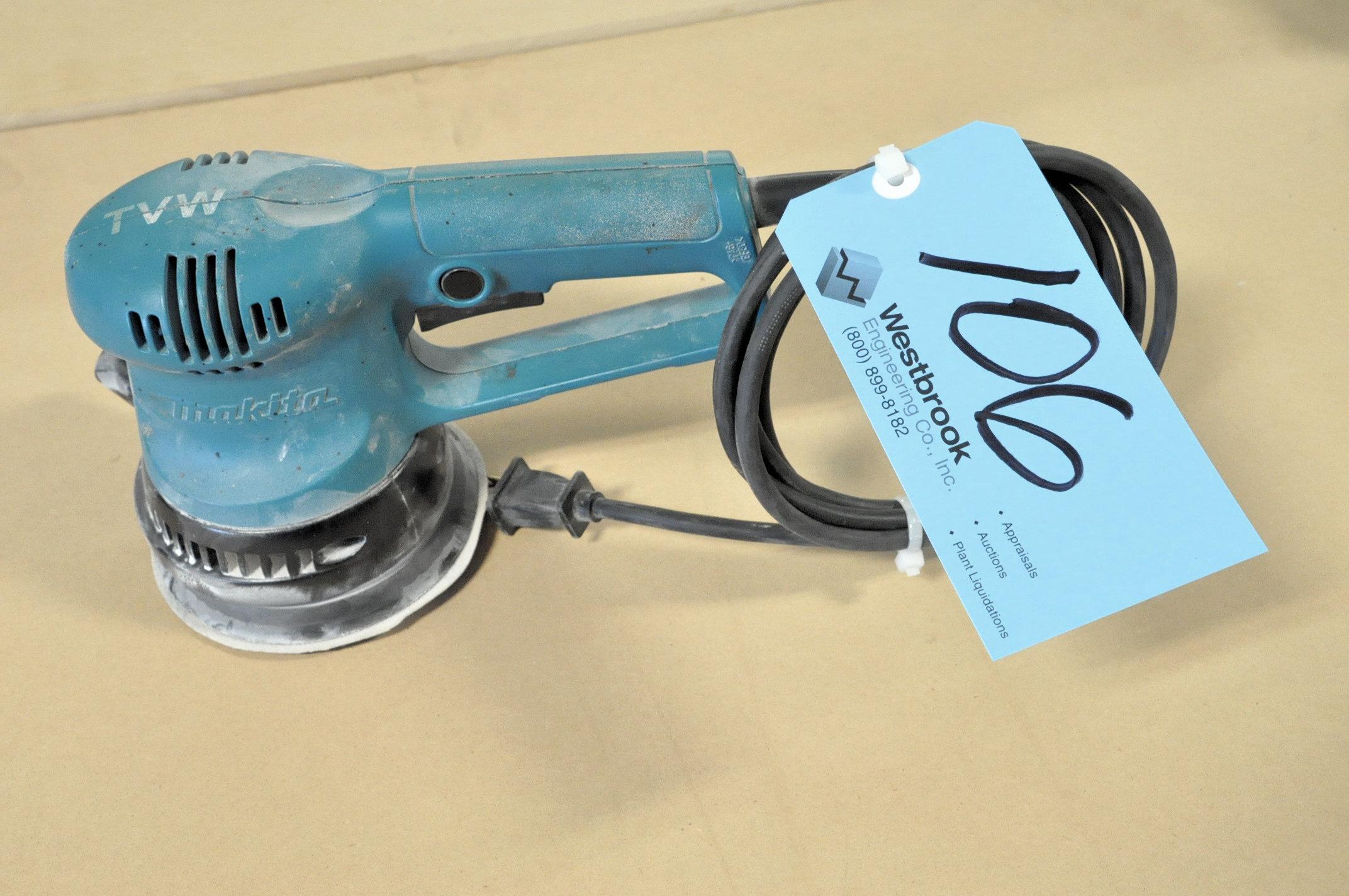 """Makita BO5020, 5"""" Diameter Electric Pad Sander"""