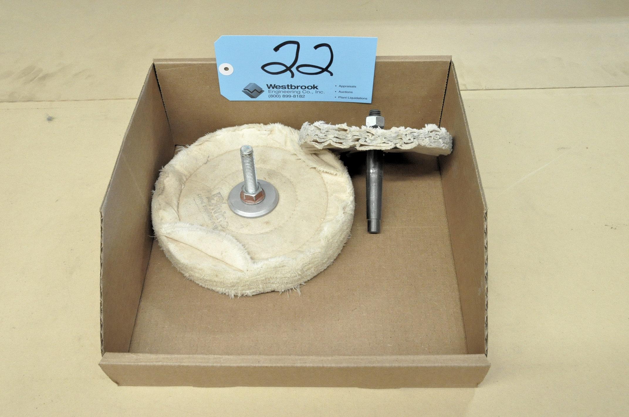 Lot-(2) Buffing Bonnets in (1) Box