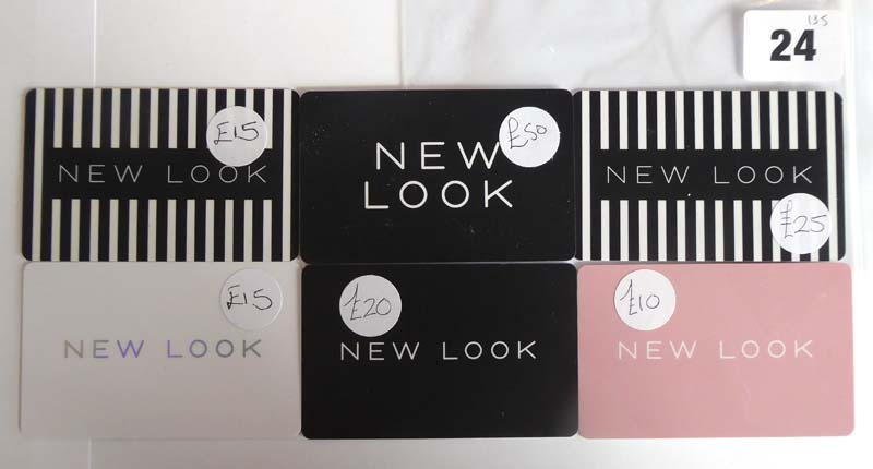 New Look (x6) - Total face value £135