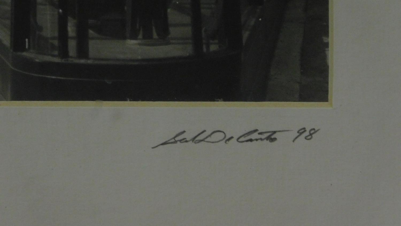 Three framed photographs, Jamie Cullum, Damon Gough and the Flatiron building. 49x57cm (largest) - Image 7 of 7