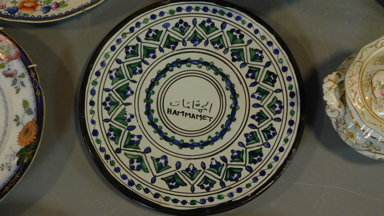 A 19th century Staffordshire ironstone tureen and cover (associated ladle) and various other - Image 5 of 18