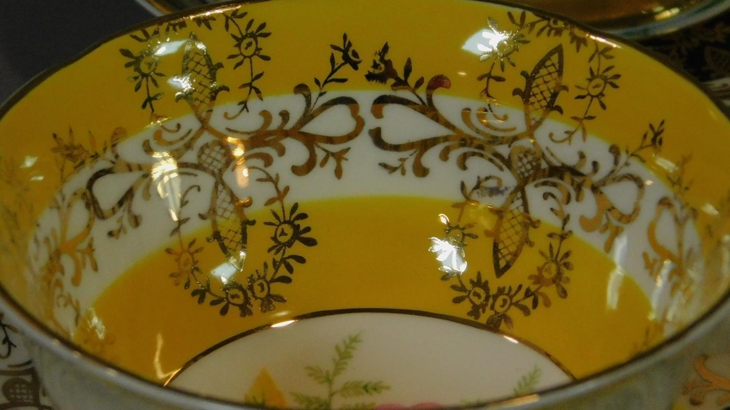 A set of six Royal Grafton tea cups and saucers and a Noritake coffee set. - Image 6 of 9