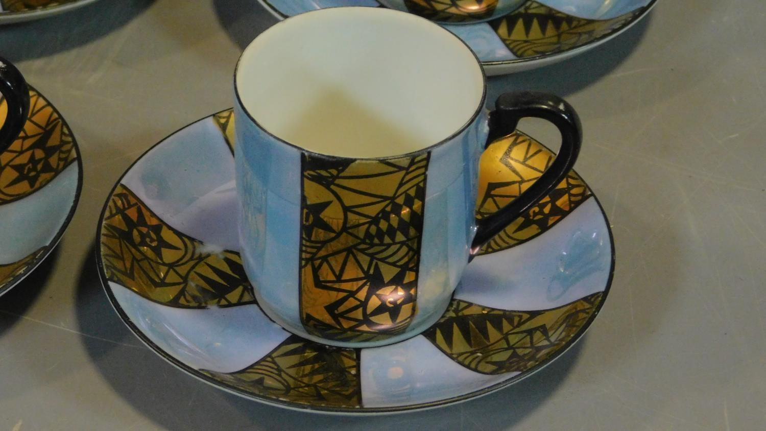 A set of six Royal Grafton tea cups and saucers and a Noritake coffee set. - Image 2 of 9