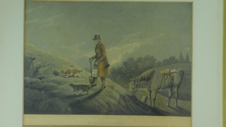 A set of six 19th century oak framed and glazed sporting prints after Henry Alken. 44x36cm - Image 5 of 9