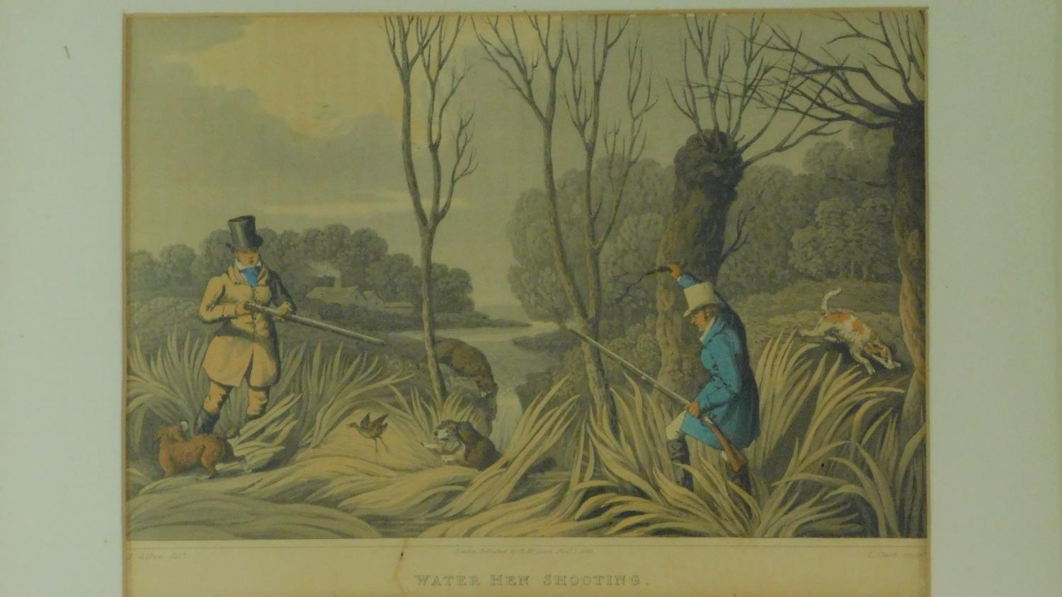 A set of six 19th century oak framed and glazed sporting prints after Henry Alken. 44x36cm - Image 6 of 9