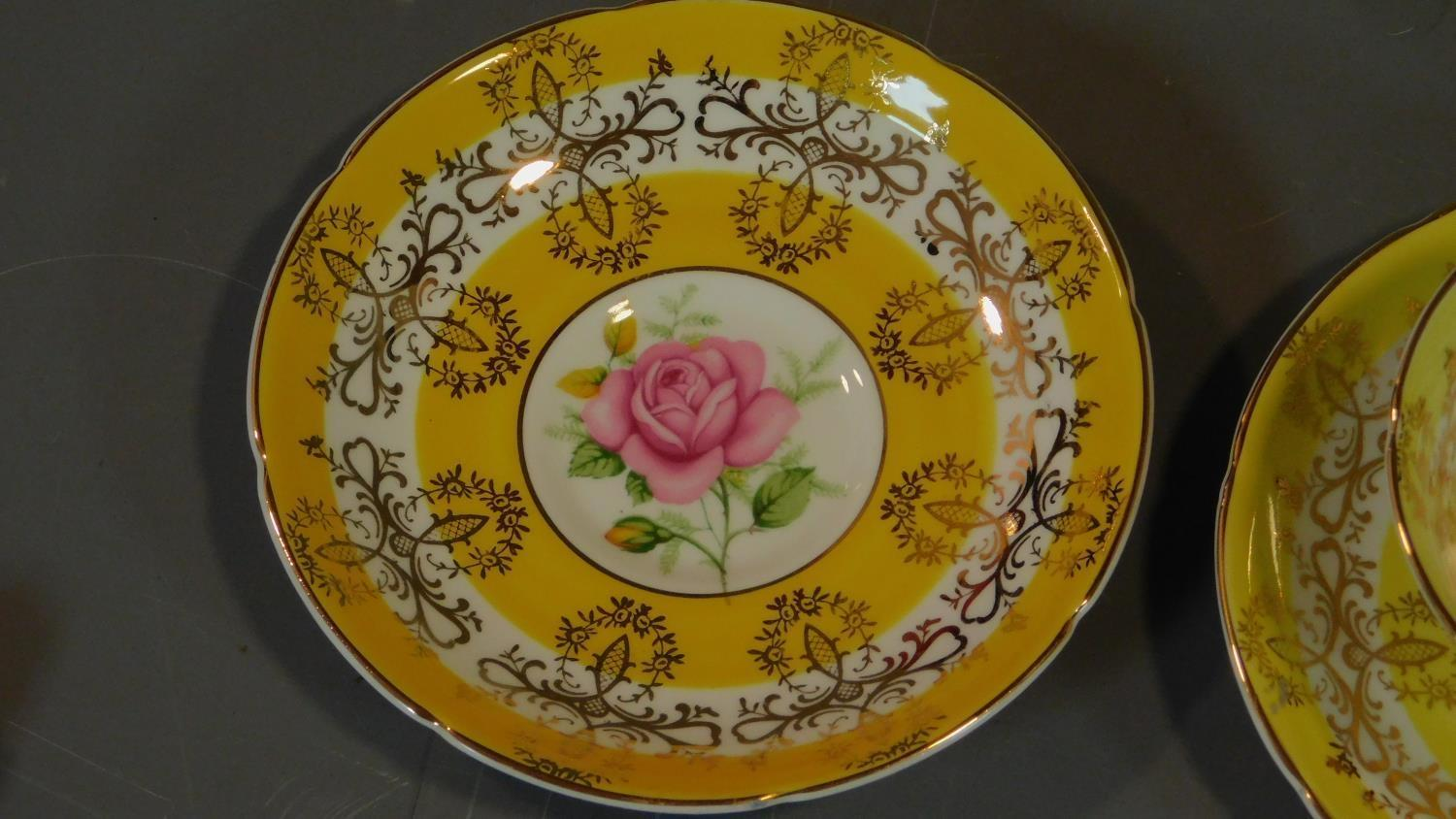 A set of six Royal Grafton tea cups and saucers and a Noritake coffee set. - Image 7 of 9