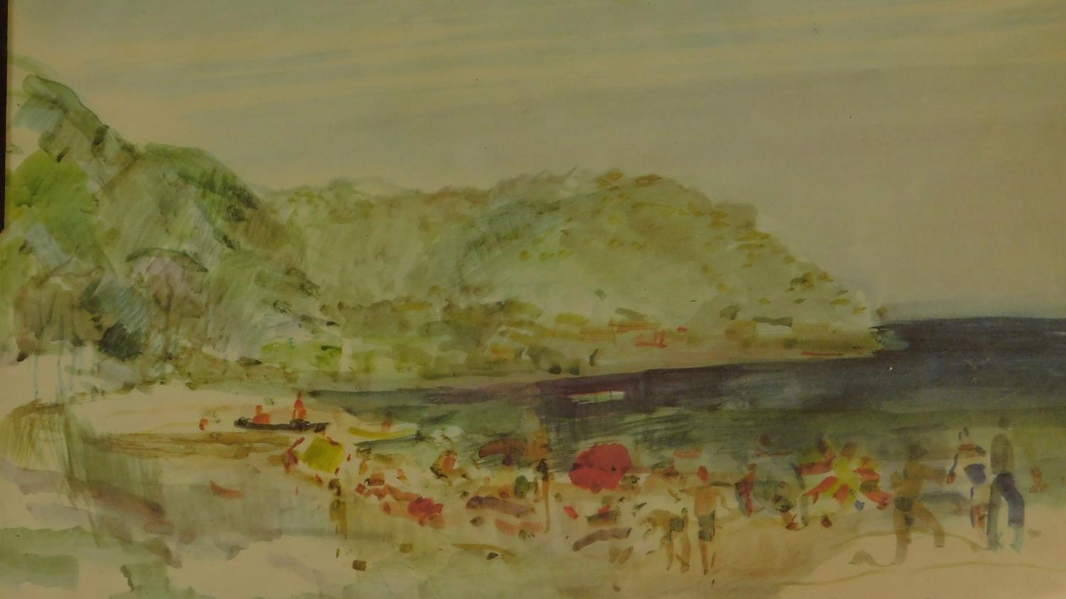 A pair of signed 19th century framed and glazed etchings, a set of three prints and an oil on board, - Image 6 of 10