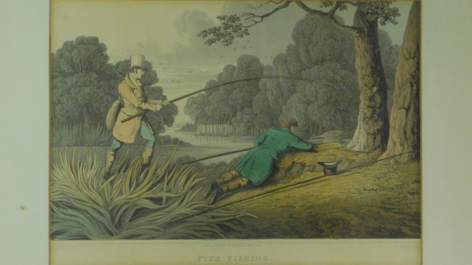 A set of six 19th century oak framed and glazed sporting prints after Henry Alken. 44x36cm - Image 7 of 9