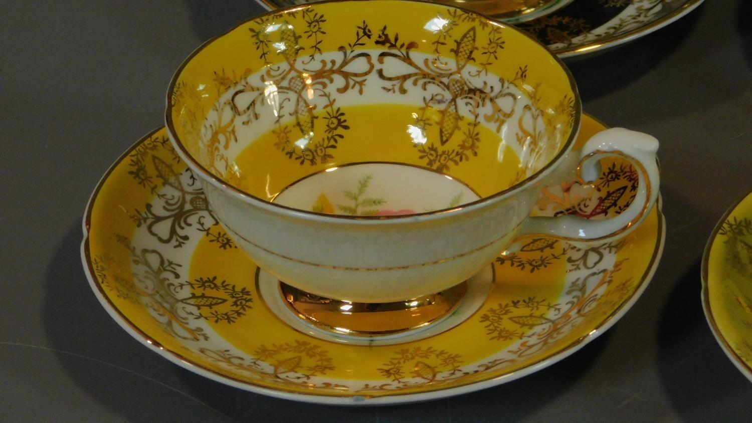 A set of six Royal Grafton tea cups and saucers and a Noritake coffee set. - Image 5 of 9