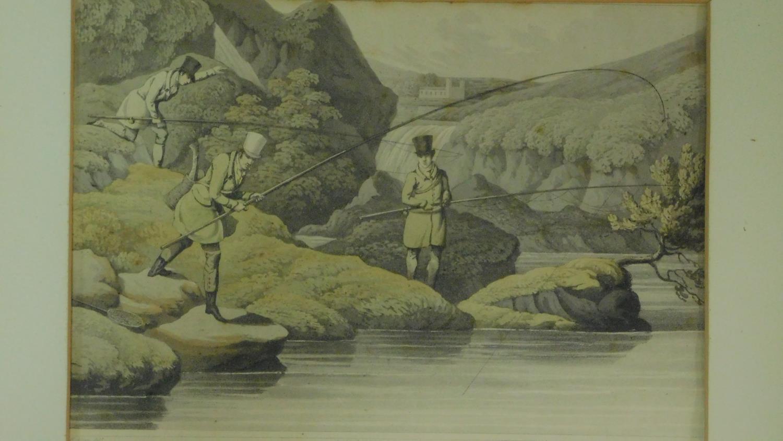 A set of six 19th century oak framed and glazed sporting prints after Henry Alken. 44x36cm - Image 2 of 9
