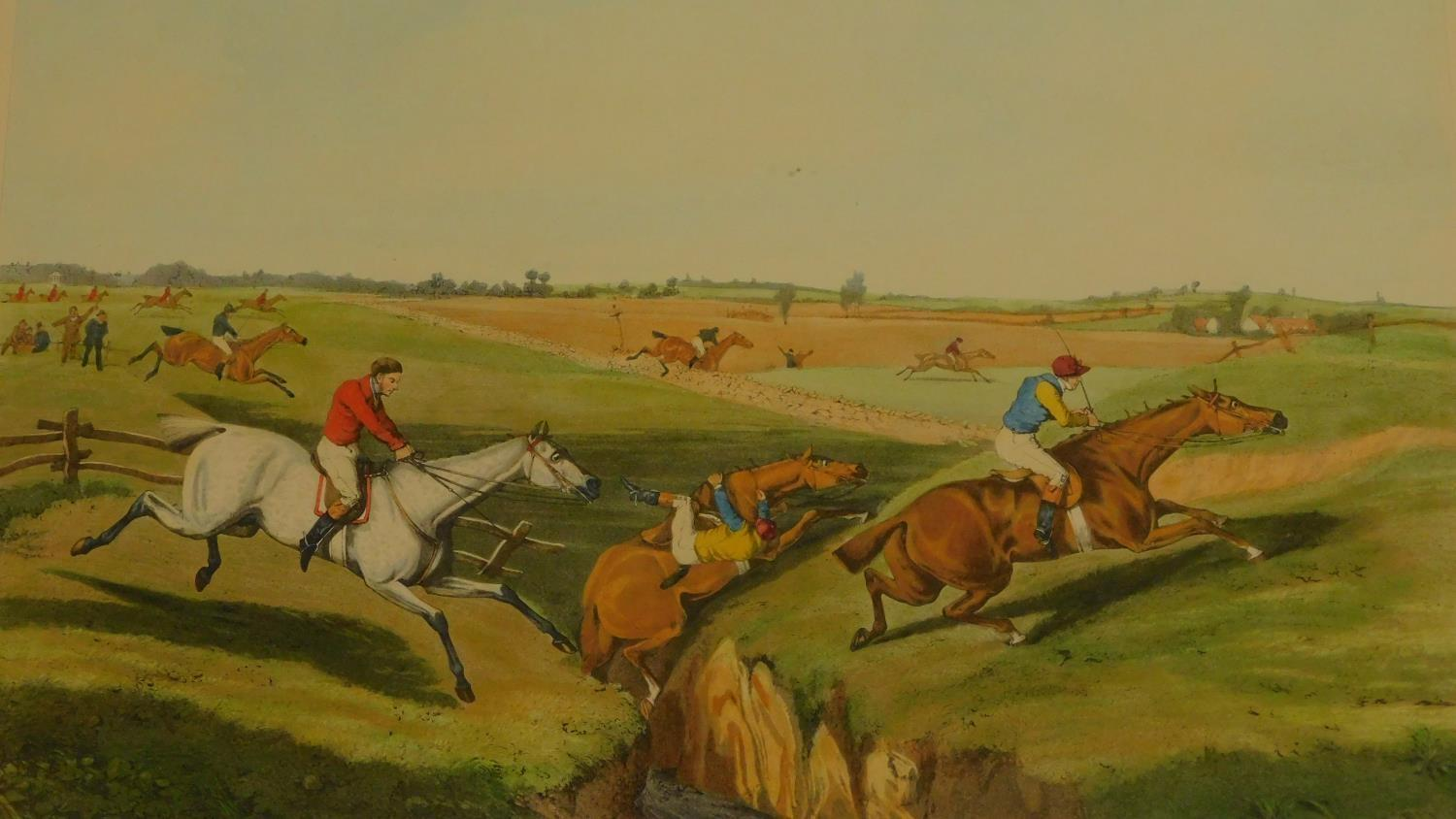 A pair of framed and glazed prints after Henry Alken. 68x55 - Image 4 of 8