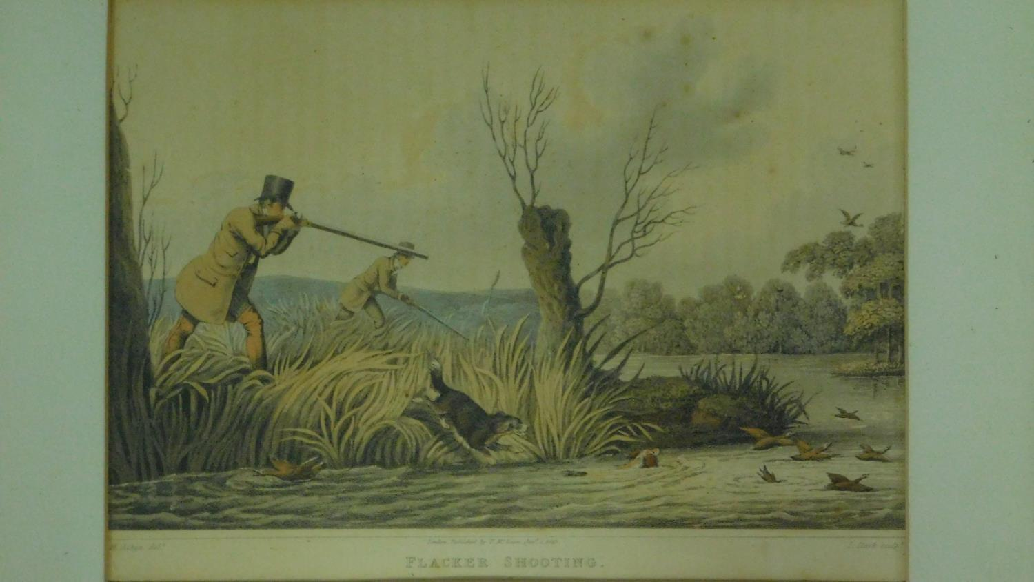 A set of six 19th century oak framed and glazed sporting prints after Henry Alken. 44x36cm - Image 4 of 9