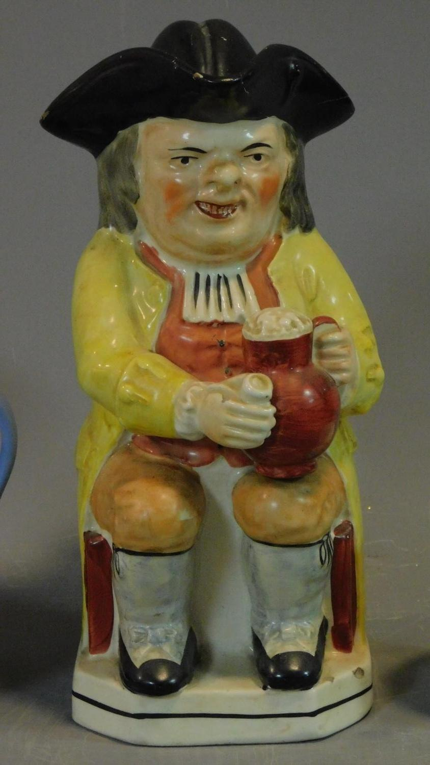 A miscellaneous collection of ceramics to include Jasperware and Carltonware. H.26 (tallest) - Image 3 of 12