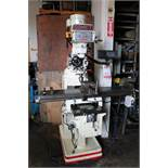 "2008 COMET VERTICAL MILL, MODEL 3KVHD-1, 10"" X 54"" TABLE, POWER FEED, MAGNE SCALE XY DRO, S/N"