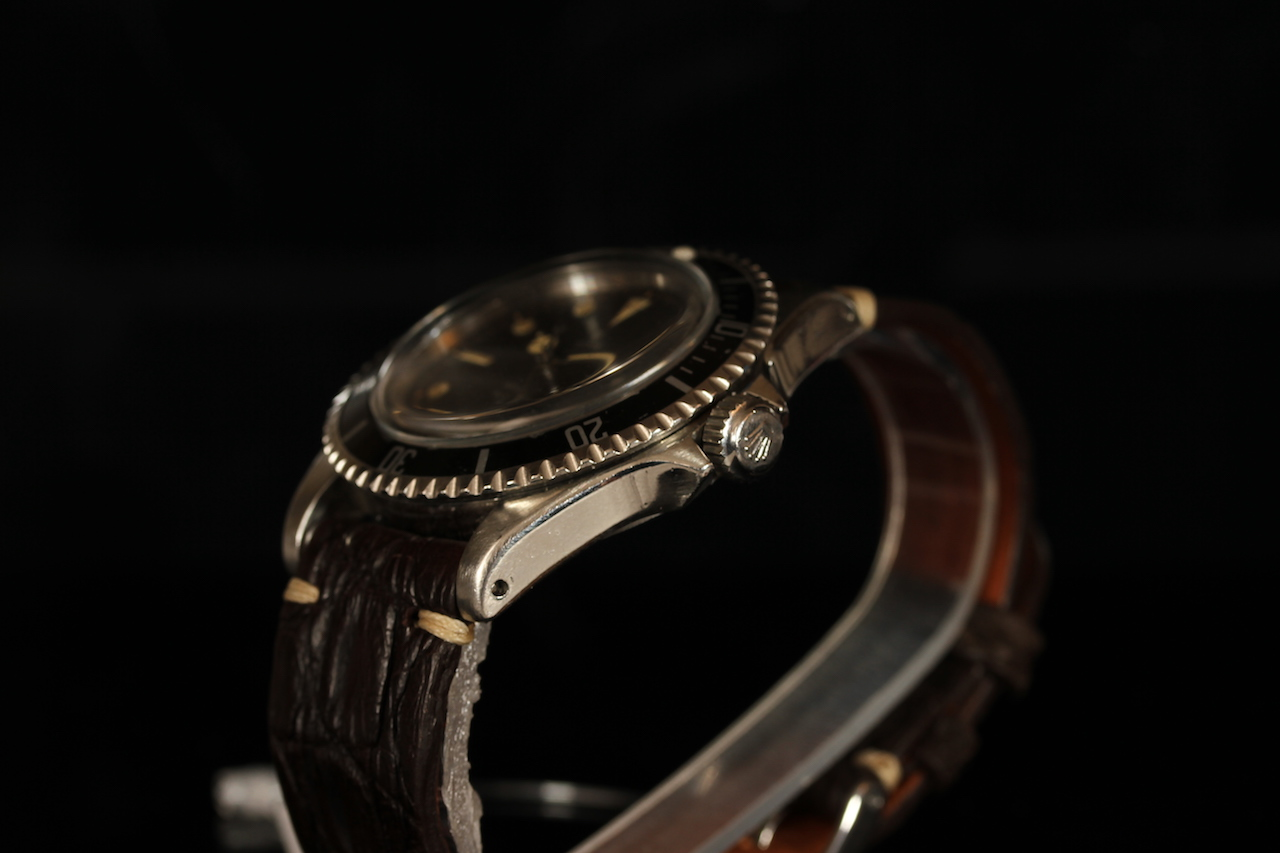 GENTLEMENS TUDOR OYSTER PRINCE SUBMARINER 'POINTED CROWN GUARDS' WRISTWATCH REF. 7928, circular - Image 3 of 3
