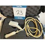 Esaote SC3123 ultrasound probe with case