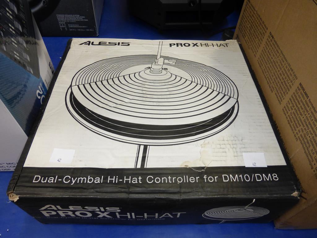 Lot 42 - * An Alesis Pro X Hi-Hat Controller for DM10/DM8 (RRP £84)