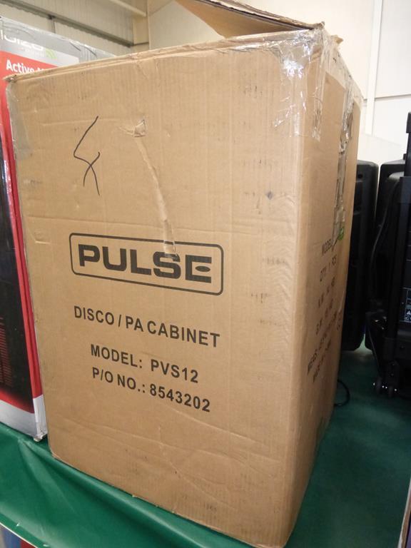 Lot 17 - * Pulse PVS12 Two-way Speaker System, RRP £69