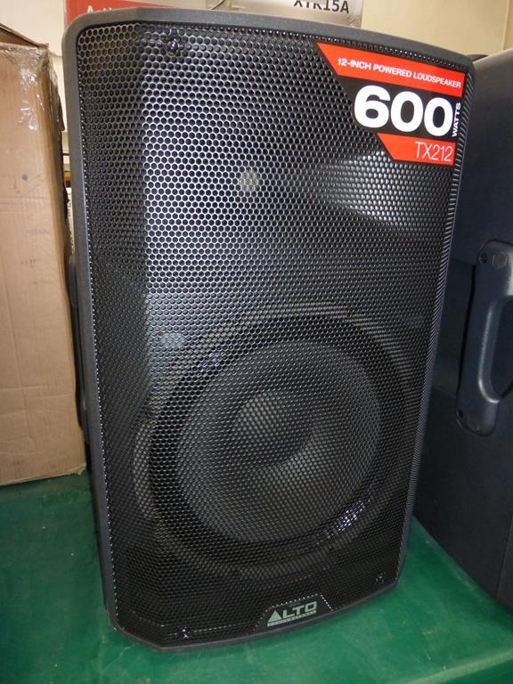 Lot 7 - * Alto Professional TX212 600W 12'' 2-way powered Loudspeaker, s/n (21) UT1807118004002, RRP £228