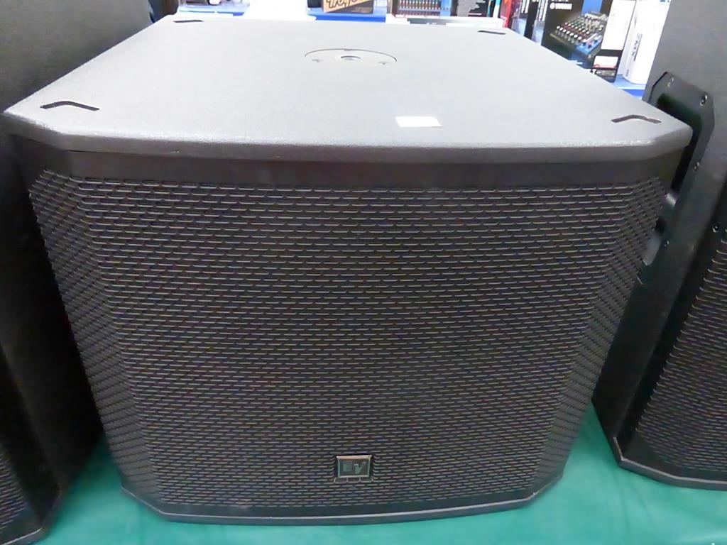 Lot 2 - * Electro-Voice EKX-15SP Single 15'' Subwoofer powered Loud Speaker, S/n 405165851900010059, RRP £