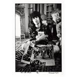 A Limited Edition Photograph Of Keith Richards And Child By Dominique Tarlé 1971