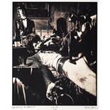 A Limited Edition Photograph By Michael Joseph (South African, born 1941) Of Mick Jagger And Keit...