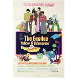A Beatles Yellow Submarine US One-sheet Poster United Artists, 1968
