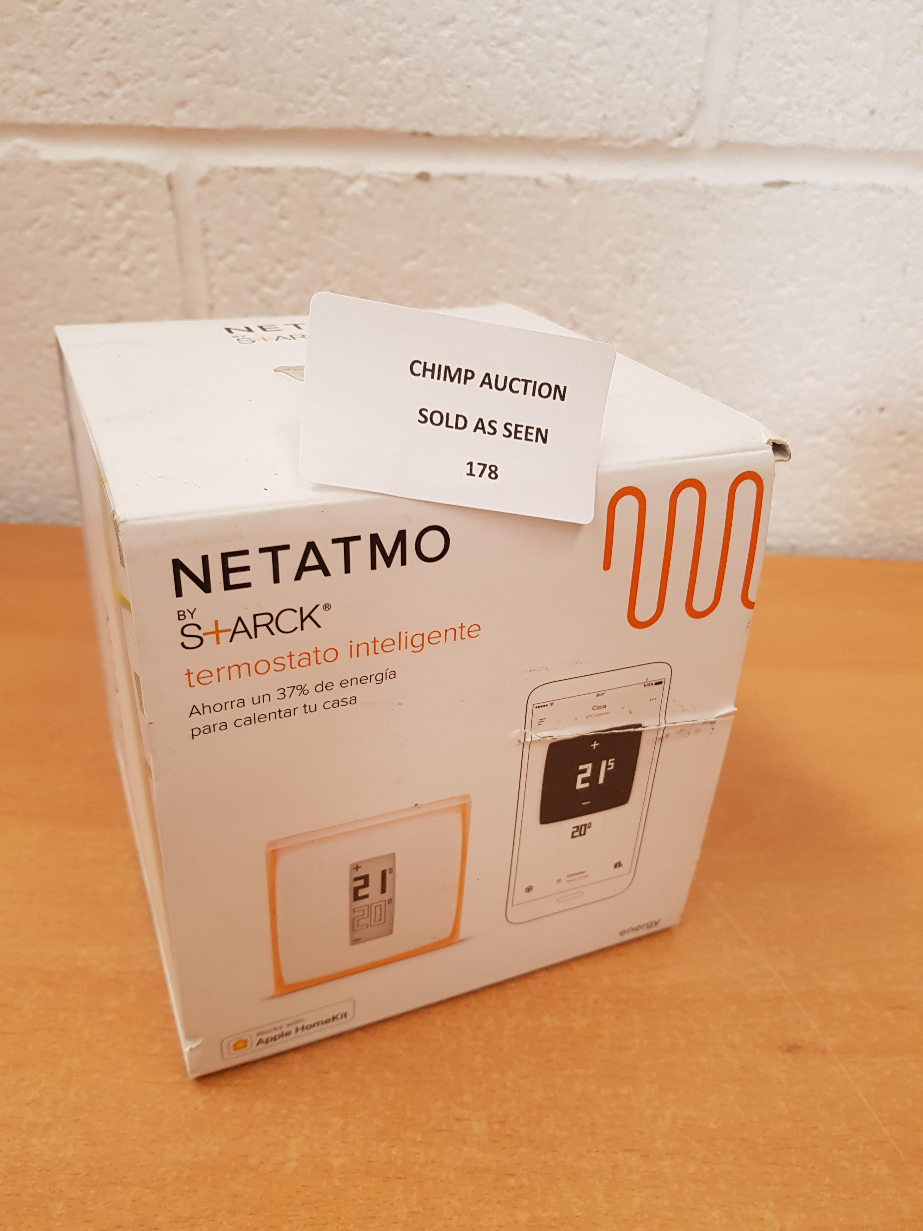 Lot 178 - Netatmo NTH01 By S+ARCK Smart Thermostat