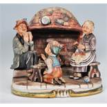 A 20th century Capodimonte of Naples ceramic group