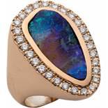 Opal-Brillantring