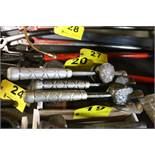 LARGE QTY OF LEAD HAMMERS