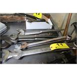 LARGE QTY OF LARGE WRENCHES