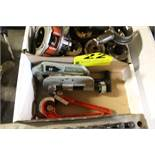 (2) PIPE CUTTERS AND TUBING BENDER