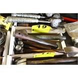 (5) ASSORTED BALL PEEN AND MISC. HAMMERS