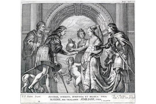Ceremonie Gevartius Casparius Pompa Introitus Honori Serenissimi Principis Ferdinandi Aust