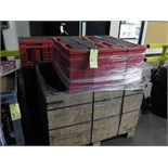 LOT OF TRADESHOW TUBS (6)