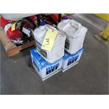 LOT OF DIESEL EXHAUST FLUID, PEAK BLUE DEF, (4) 2-1/2 gal.