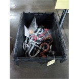 LOT OF FORKLIFT HOOKS (in one tub)