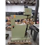 SCM MiniMax overhead router. 3 phase, 230v. Steel table included and has only been removed for move.