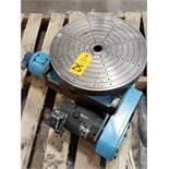 M&M Precison power rotary table. Model 2025-6-12-18.
