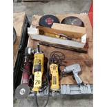 Lot of assorted power tools as pictured.