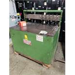 The American Packaging Corp Ampak model 38L slitting machine. Single phase 115v.