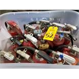 Qty 14 - Fire extinguishers.