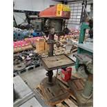 Rockwell floorstanding drill press.