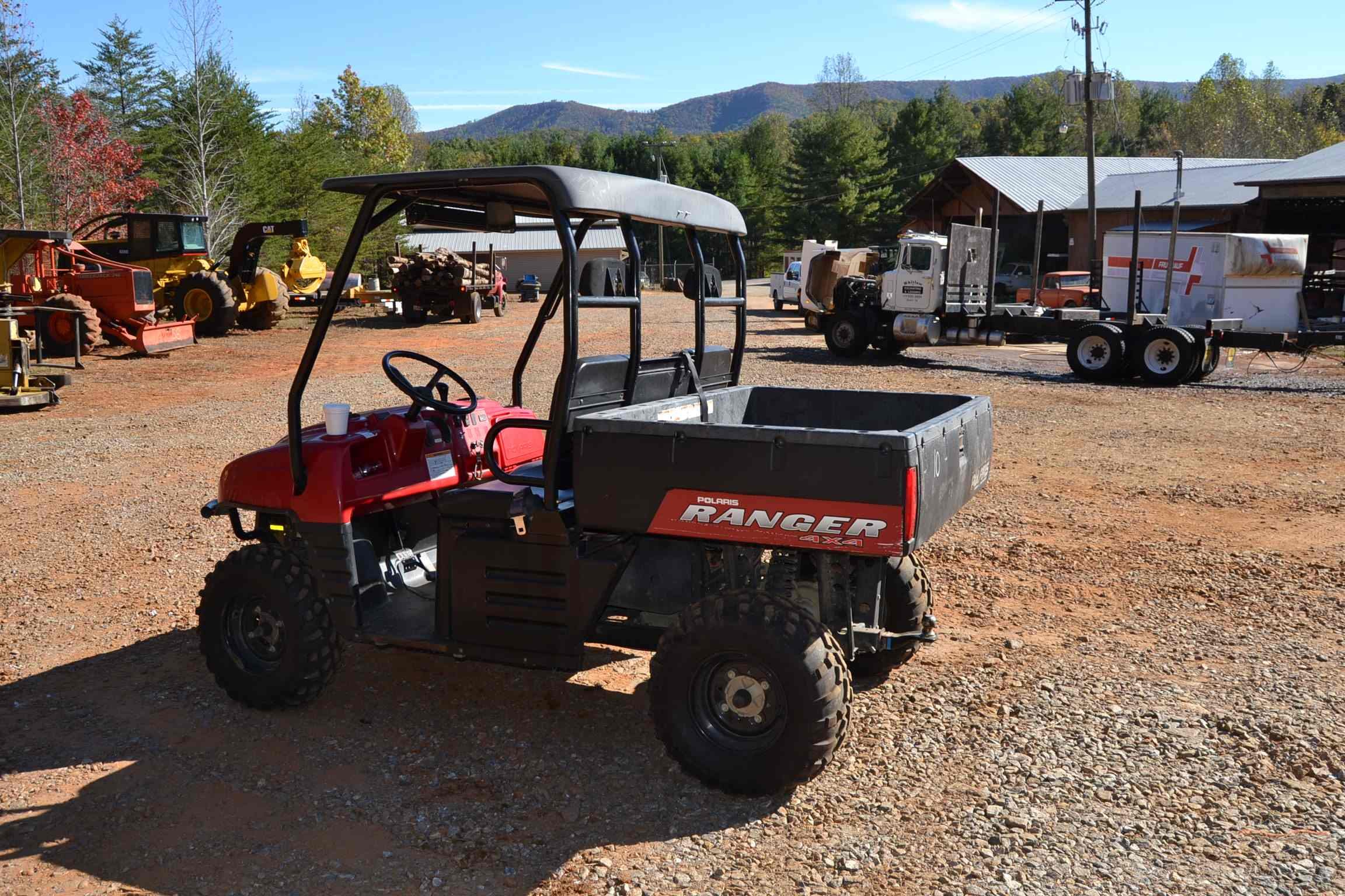 2006 Polaris Ranger 500 4x4 Side By Side Atv W  633 Hours