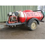 Lot 105 - BRENDON POWER WASHER BOWSER