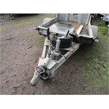 Lot 97 - IFOR WILLIAMS GH64 SINGLE AXLED MINI/MICRO DIGGER TRAILER