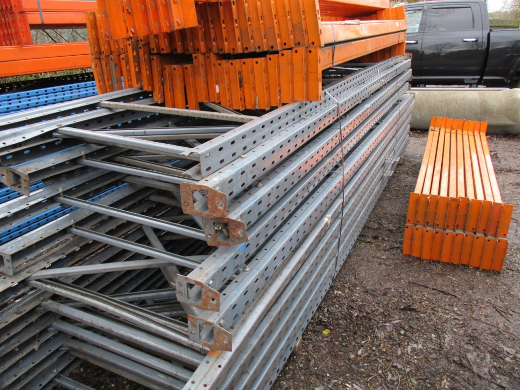 Lot 108 - QTY OF PALLET RACKING..