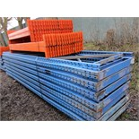 Lot 107 - QTY OF PALLET RACKING..