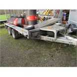 Lot 100 - IFOR WILLIAMS GX106 MINI DIGGER TRAILER
